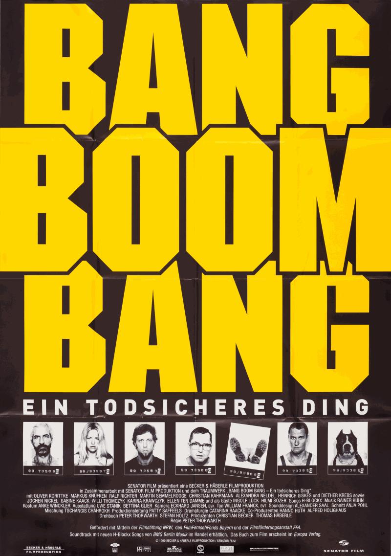 "NRW Independents #8 Im Rahmen Der Kölner Kino Nächte: ""BANG BOOM BANG"""